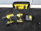 DEWALT DCF885 20-VOLT MAX 2-TOOL COMBO (INCLUDES DRILL/IMPACT/2 BATT/CHARGR/CASE